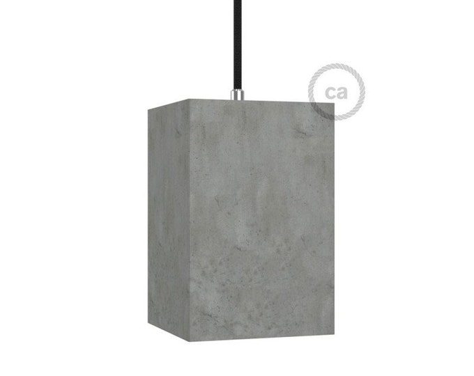 "Pendant lamp, room lamp, ""Concrete pendant"", Restaurant lighting, Bar lighting, minimalist lamp, Loft,"