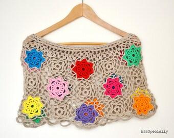 Poncho Haakpatroon/Crochet pattern