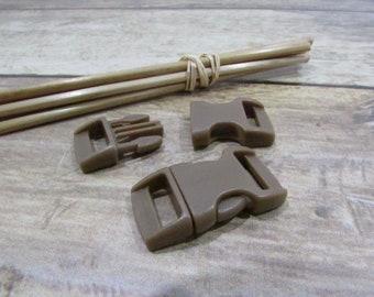 5 loop clip 2.9 x 1.5 cm quick plastic strap 1 cm - 11 colors - 10.40