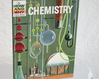 1961 How To Chemistry Book for Kids