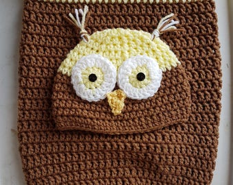 Owl Baby Cocoon 0-4 months size