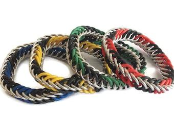 Children's Stretchy Bracelet - Elastic Chainmaille Bracelet - Children's Bracelet