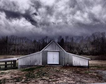 Barn Photography, Home Decor, Rustic Decor, Farm Photography, Barn Photograph, Barn Picture, Metal Barn, Rural Photography, Rural Picture