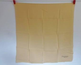 Vintage Silk neck Scarf 53cm x 54cm Devernois Jersey Paris
