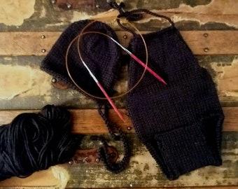 Black Beauty Romper and Bonnet Set