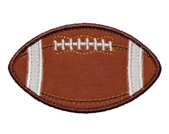 """Football Appliques Machine Embroidery Designs Applique Pattern in 5 sizes 3"""", 4"""", 5"""", 6"""" and 7"""""""