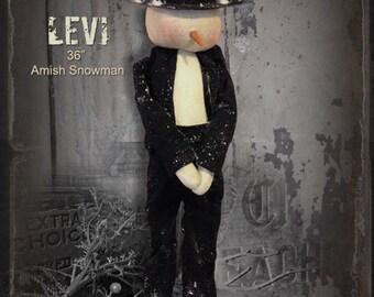 Pattern: Levi the Amish Snowman by Sparkles N Spirit