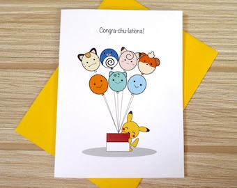 Congra-chu-lations Card