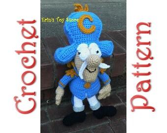 Capt. Crunch A Crochet Pattern by Erin Scull