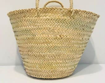 Sicily - Small Plain French Basket