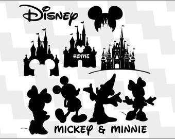 Walt Disney World Svg, walt disney world vector, walt disney world clipart, walt disney world silhouette, walt disney world mickey