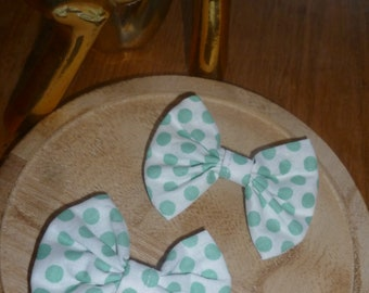 "Small barrette set of 2 ""romantics"""