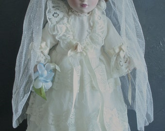 Vintage Collectible Annie Doll, Brides of America Series from the Danbury Mint, Collectible Doll, Gift for the Doll Collector