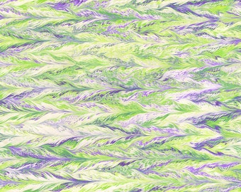 """Feathers ~Marbled Scarf, 72"""" Long~"""