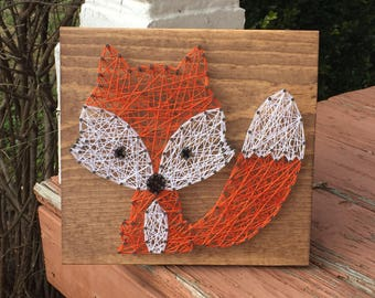 MADE TO ORDER String Art Fox