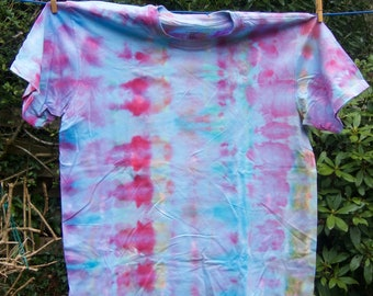 Tie-dyed Cotton T-Shirt, Size:  XL                                                                                    3