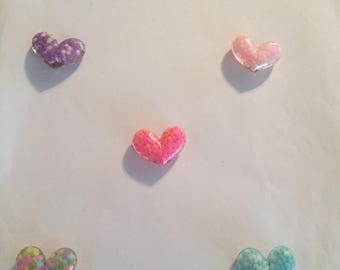Heart and Flower Magnets!