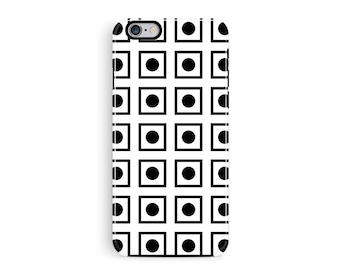 iPhone 7 Case, iPhone 7 Cover, Grid Phone Case, Minimalist iPhone Cases, Protective iPhone 7 Case, Tough iPhone 7 Case, Tough Phone Case