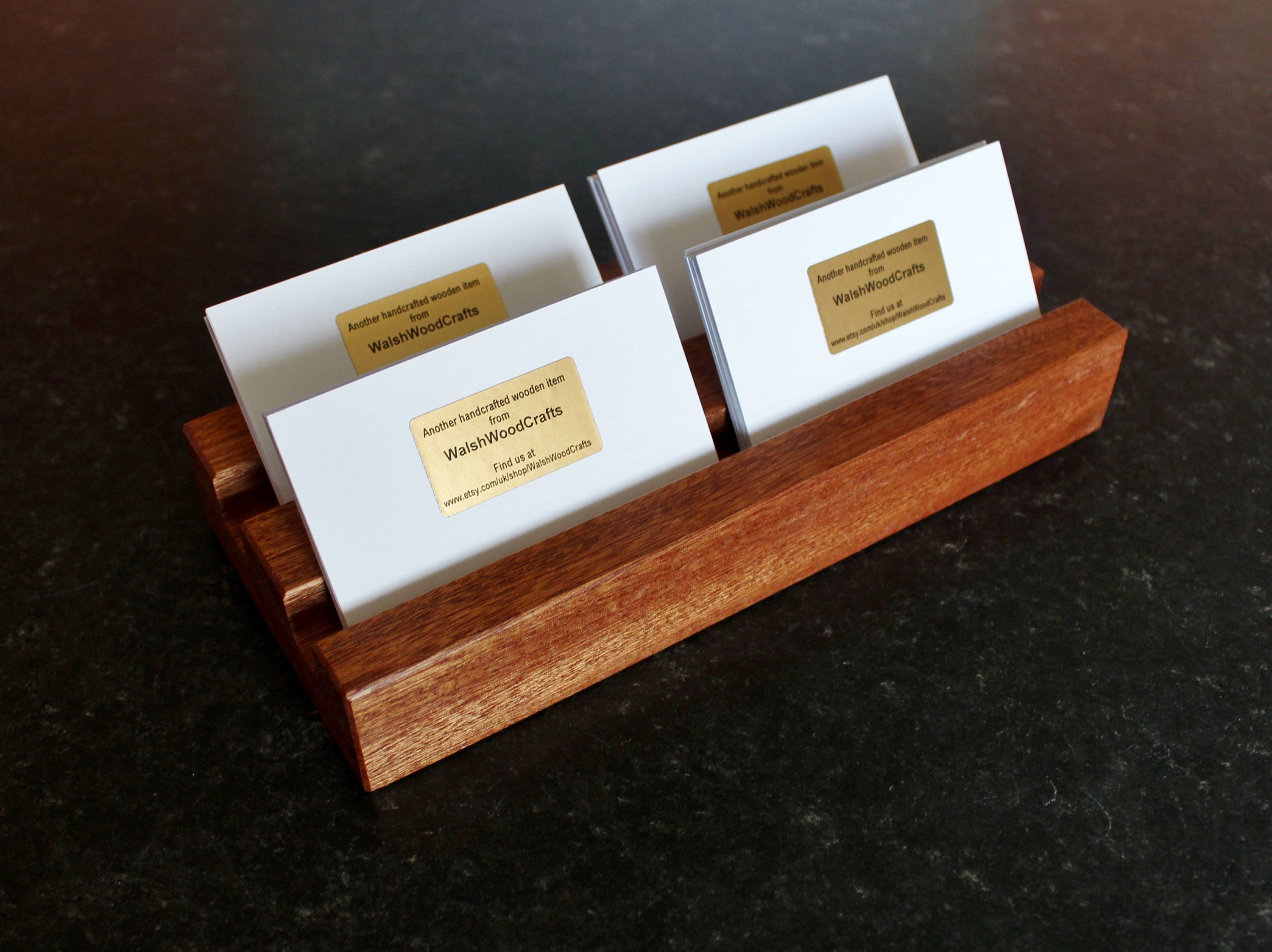 Business Card Stand. Business Card Holder. Business Card