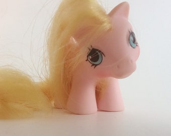 1987 G1 MLP Newborn Baby Pegasus Twin Nibbles- My Little Pony Original Toy 1980's