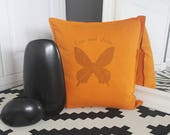 Butterfly pillow for girl...