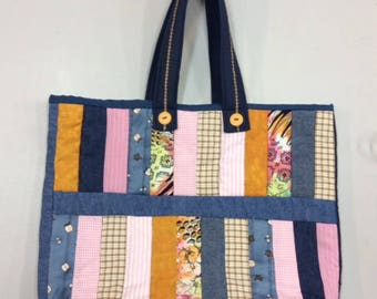 Quilted Shopping Bag/Tote
