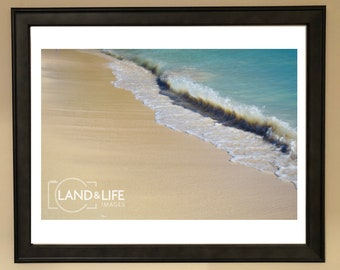 Beach Crash Lustre Print