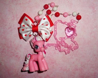 Valentine Pony Necklace - WISH-I-MAY