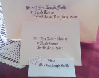 Envelopes -Hand written Calligraphy