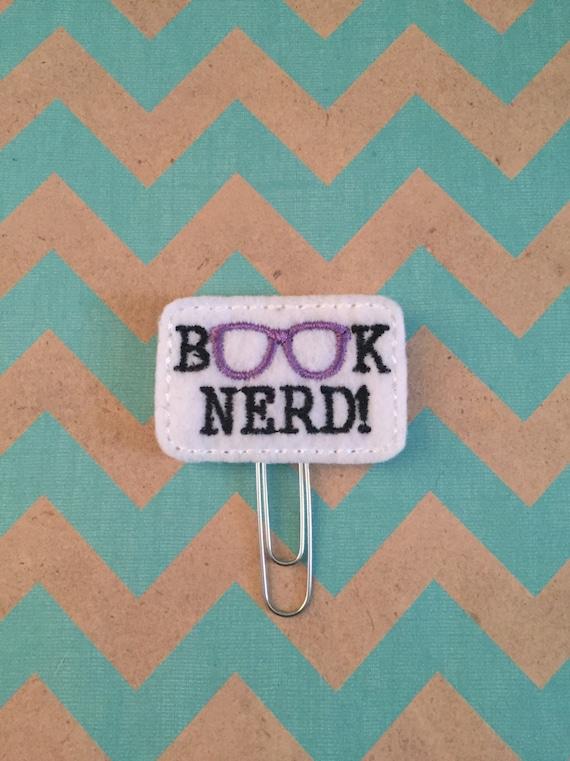 Book Nerd Paper Clip/Planner Clip/Bookmark