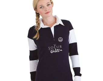 """Sister Christmas gift - Polo sister to be personalized with your name - birthday sister - gift for sister """"tearing..."""""""