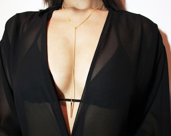 Natalie Necklace - Gold Plated
