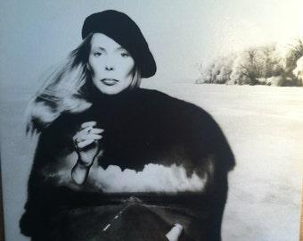 Joni Mitchell Hejira Vinyl Folk Rock Record Album
