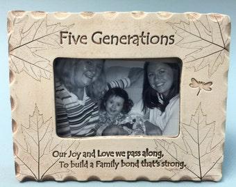 Five Generations Frame