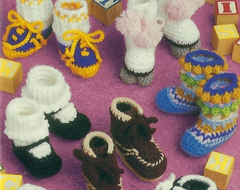 Baby Bootie Boutique Crochet book