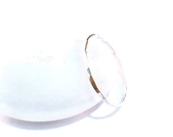 Stackable Ring, Single Dainty 925 Sterling Silver Hammered Texture