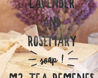 Lavender Rosemary Herbal Soap