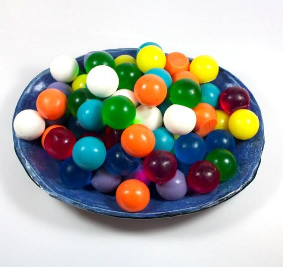 Decorative Soap Balls: Soap Spheres Set Of 100 Marbles Balls Circles Gumballs