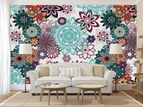 Mandala Decal Wall Wallpaper