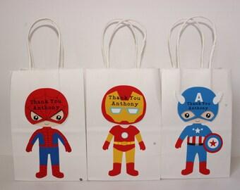 SuperHero Party Favors