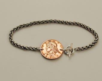 Panama Coin Bracelet 1983 Chief Urraca