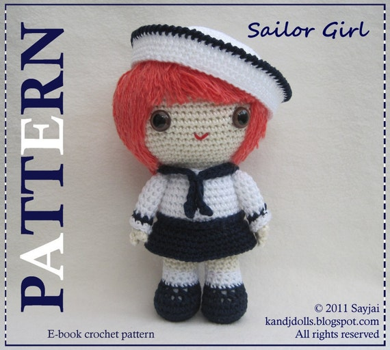 ENGLISH Instructions ONLY Instant Download PDF Crochet