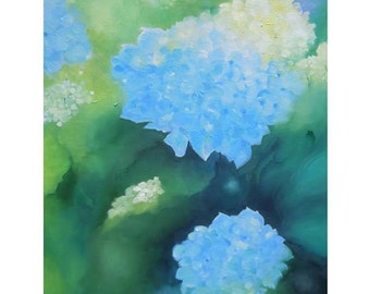 Hydrangea Greeting Card- Perfect for a wedding, bridal shower, baby shower, sympathy and more