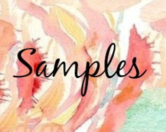 Fabric Samples 1-5