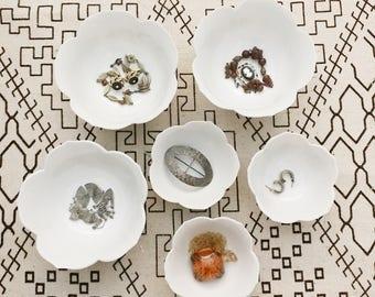 vintage Lotus Bowls / lotus bowl collection