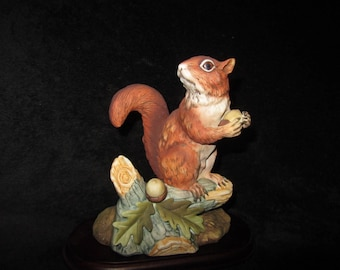 Vintage Red Squirrel By Andrea #5622