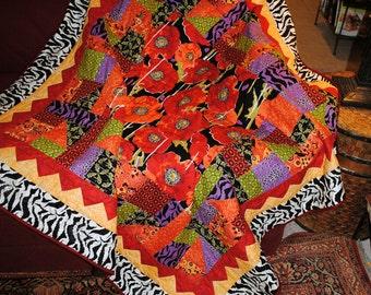 Poppy quilt