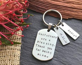 Godfather Gift Idea - Baptism Gift for Godparents - Baptism Gift - Gift for Godfather - Godparent Gift - Christening Gift