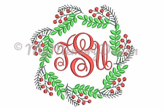 frame embroidery design christmas embroidery pattern monogram frame machine embroidery patterns instant download 4x4 5x7 6x10 size