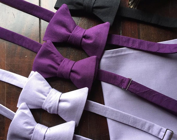 Men's Custom Freestyle Wedding Bow Ties, Freestyle Bow Tie for Men, Wedding party Bow Ties Made by TwoLCreations